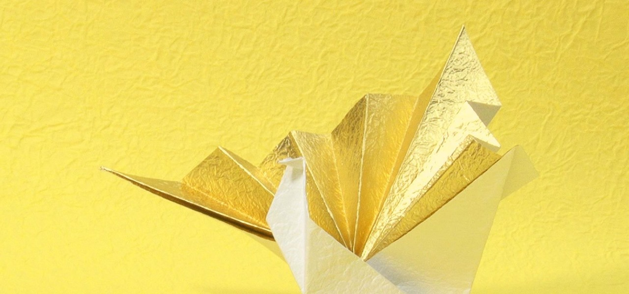 Make a Special Origami Crane with Washi Paper