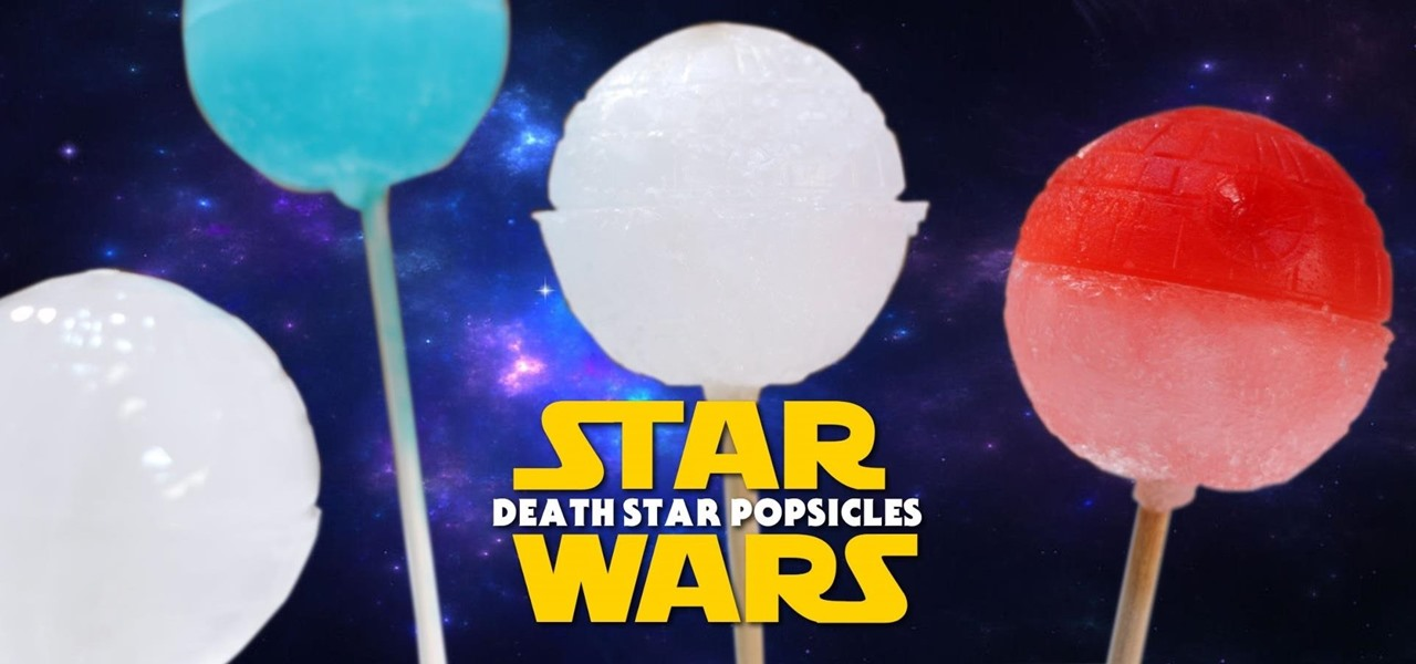 Make Star Wars Death Star Popsicles