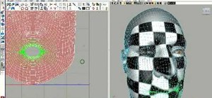 Unwrap a head using UV enhancements in Maya