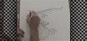 Draw a Japanese dragon