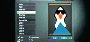 Create a custom penguin playercard emblem in Call of Duty: Black Ops
