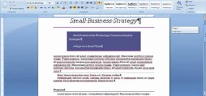 Format a Microsoft Word document with a single click