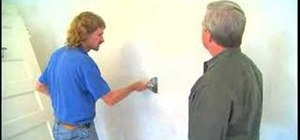 Fix cracks in old drywall with wire mesh tape