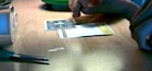 Make a levitating card