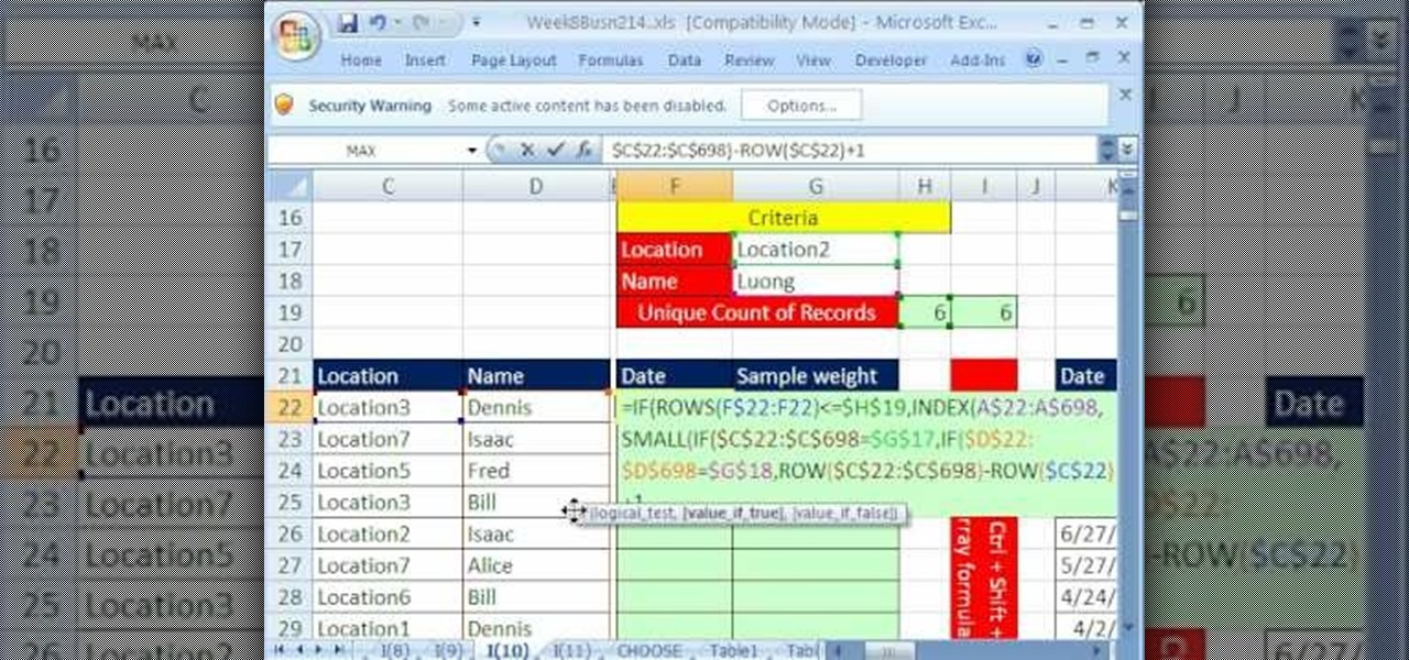 how to use the index  u0026 match functions in microsoft excel