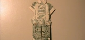 Origami a dollar suit