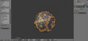 Create a 3D microscopic virus effect in Blender 2.5