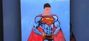 Draw & paint Superman a speed painting