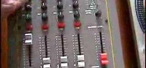 Buy a second hand DJ mixer