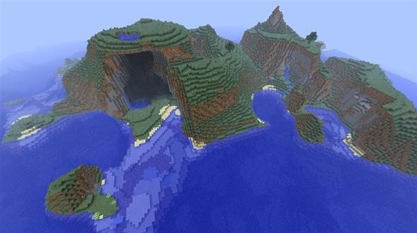 Survival Island seed (Oliver Anderson)
