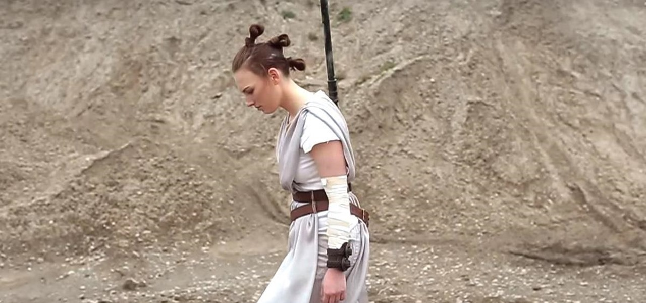 Fashion a 'Star Wars' Rey Costume for Halloween