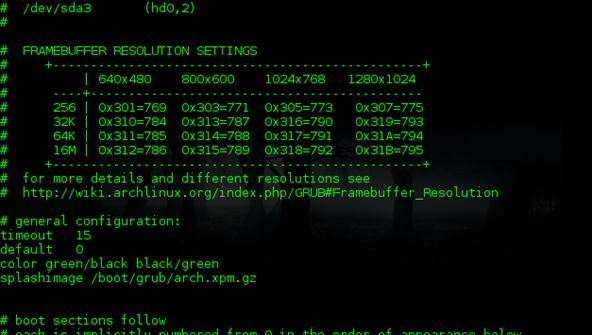 How to Give Your GRand Unified Bootloader a Custom Theme