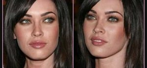 Create a Megan Fox inspired sultry makeup look