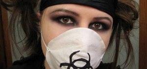 Make an evil cyberpunk nurse Halloween costume