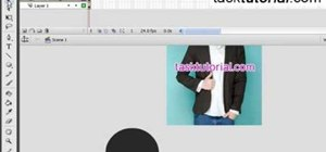 Create a cool image animation using mask in Flash