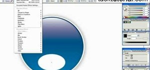 Create a glossy button in Illustrator