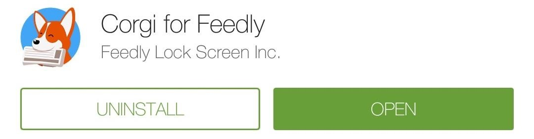 Access Your Feedly News Feed Right from Your Android's Lock Screen