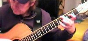 "Play Leonard Cohen's ""Hallelujah"" on acoustic guitar"