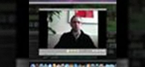 Record video with the iSight camera in iMovie '09
