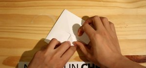 Create an origami frog