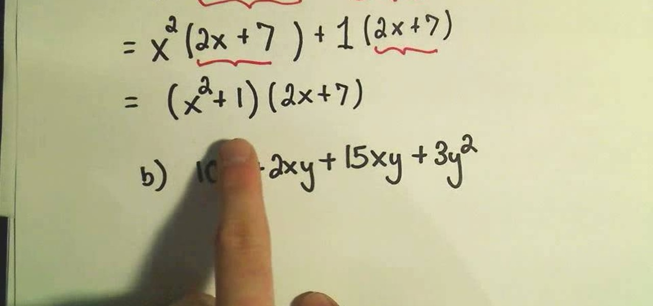 How To Factor By Grouping In Intermediate Algebra Math Wonderhowto