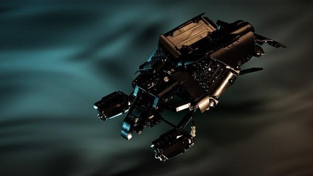 The Dark Knight's Bat and Tumbler Vehicles Come to Life with LEGOs