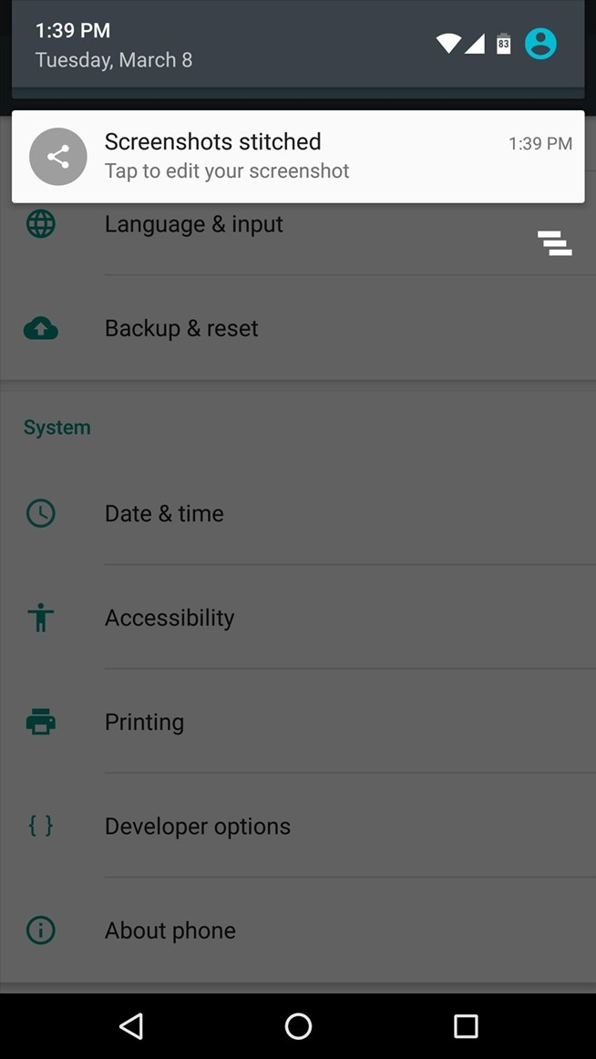 How to Get Samsung's Scrolling Screenshot Feature on Any Android