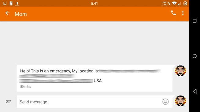 When in Distress, Shake Your Android to Send a Quick SOS Alert with Your Location