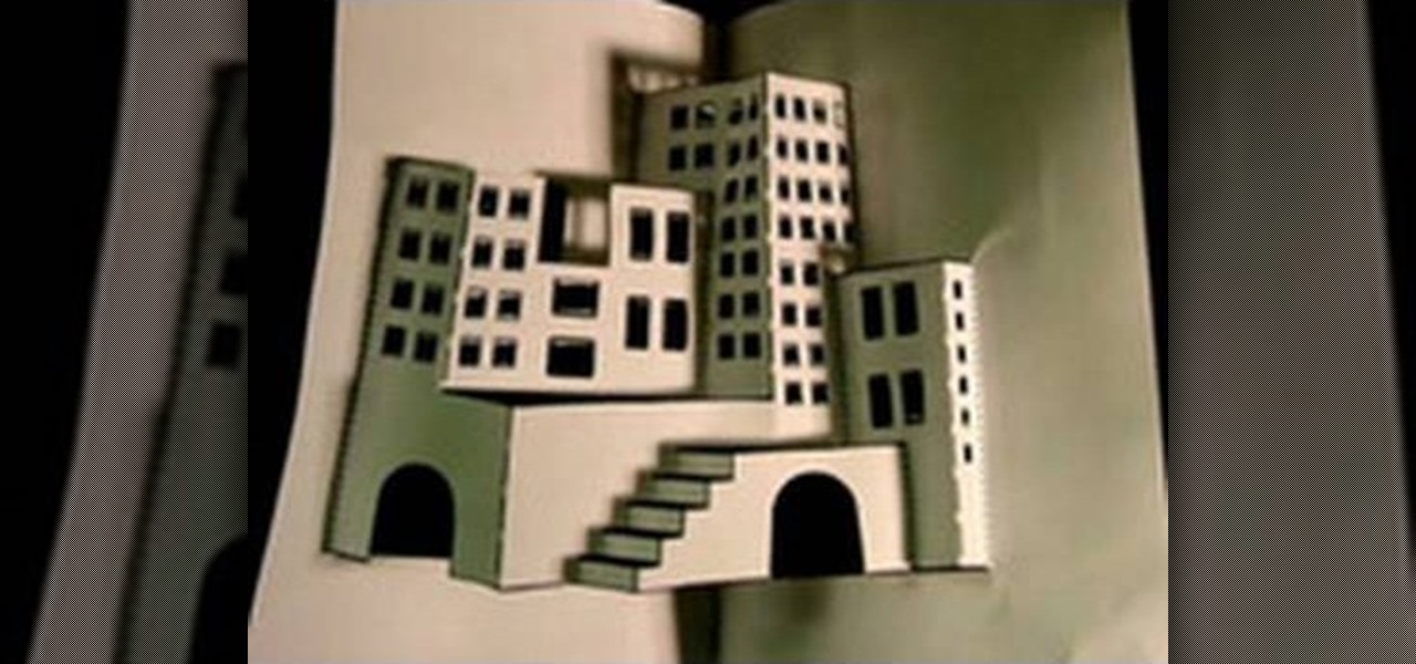 How to Make a 3d Paper City