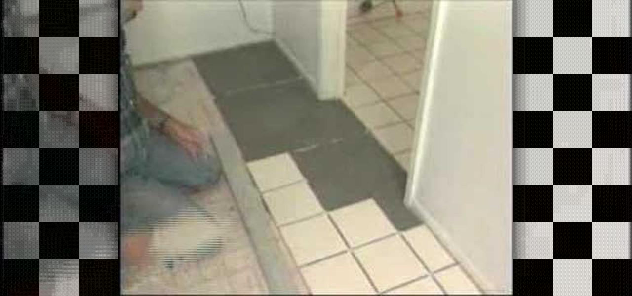 How To Setting Tile In Two Adjoining Rooms 171 Construction