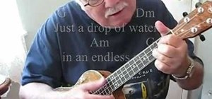 "Play ""Dust in the Wind"" on the ukulele"