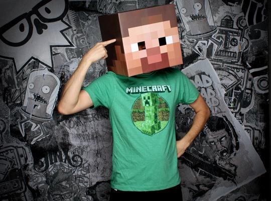 Minecraft Steve Head