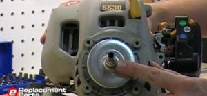 Remove a trimmer clutch from most line/string trimmers