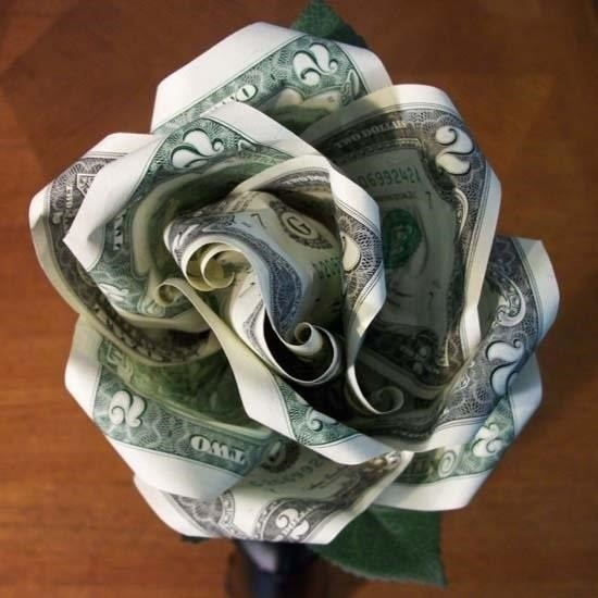 Money origami flower edition 10 different ways to fold a dollar image via squidoocdn mightylinksfo