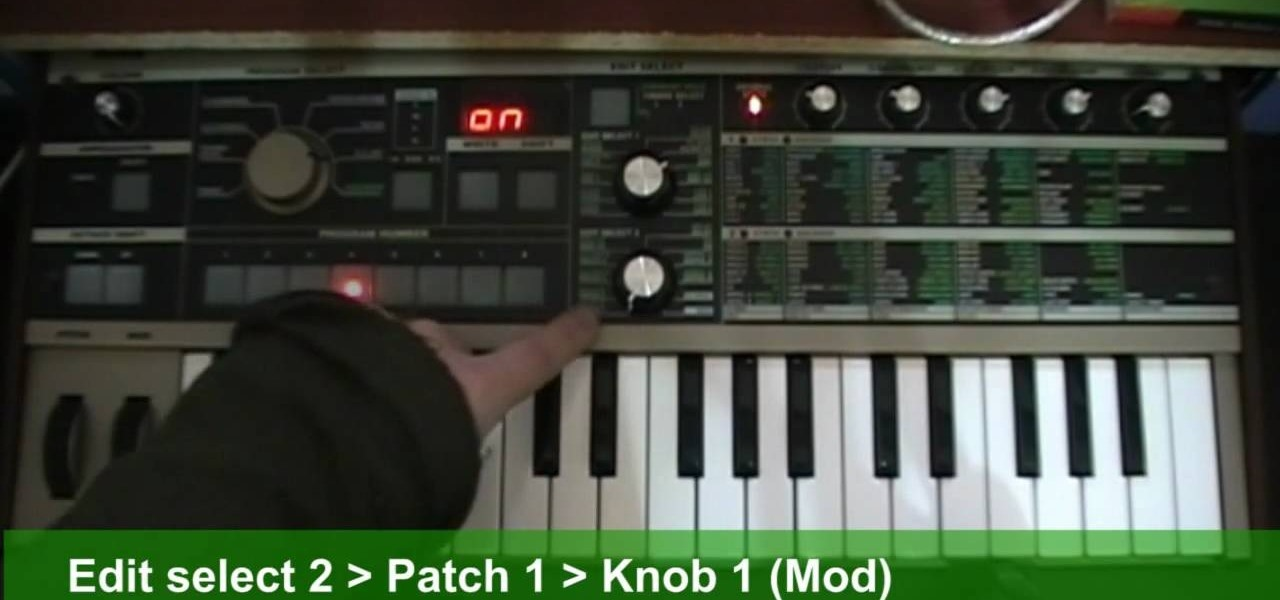 How to Create a Roland TB-303 synth sound with a patch on a