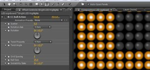 Create a simple scrolling LED display in After Effects