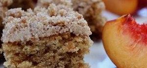 Bake a classic crumb top coffee cake
