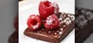 Make chocolate panna cotta desserts with agar instead of gelatin