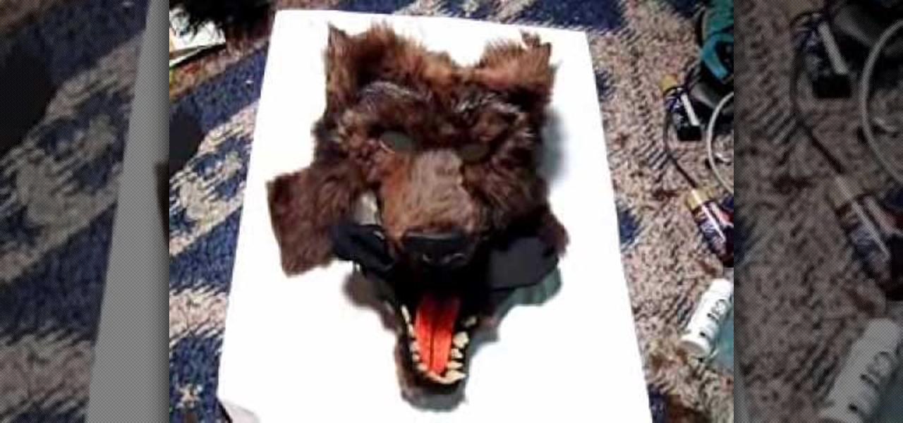 & How to Make a furry werewolf mask « Holidays :: WonderHowTo