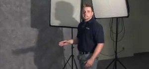 Use 3 point lighting to light your videos like pros