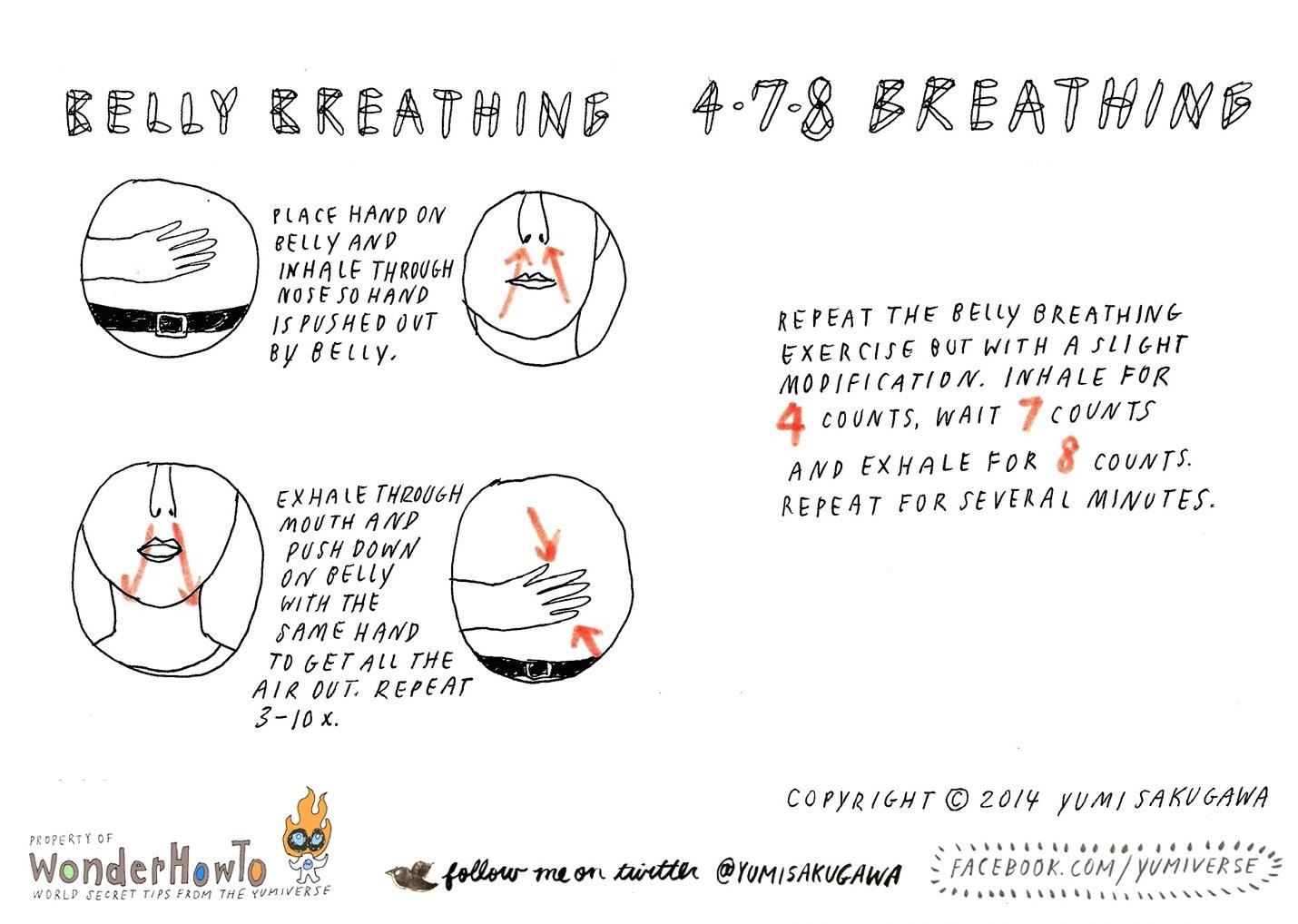 Breathing Exercises to Help You De-Stress
