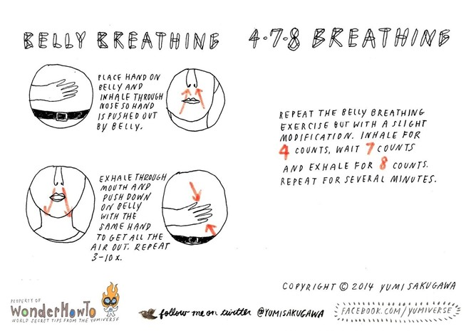 Breathing Exercises to Help You De-Stress « The Secret ...