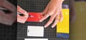 Make a multi-colored duct tape wallet