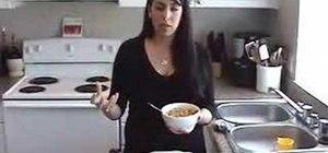 Make Mediterranean Fatteh breakfast