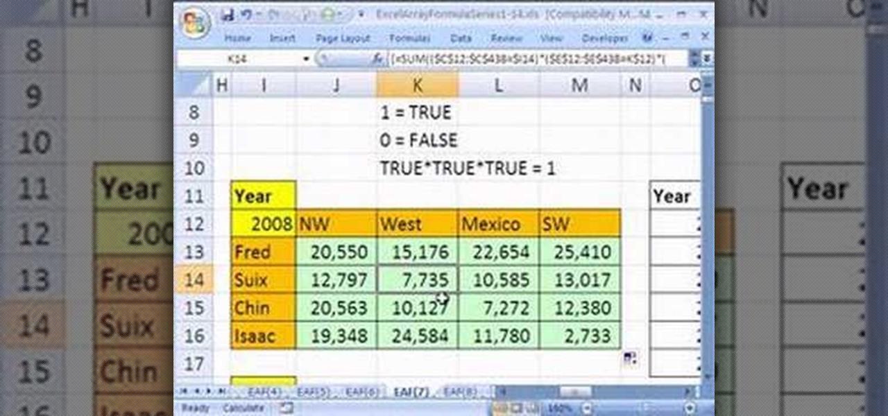 Excel 2003 Формулы