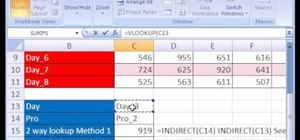 Run two-way lookups in Excel with VLOOKUP & MATCH