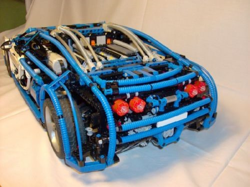 Insane LEGO Replica of World's Most Expensive Car (Working 7 Speed Transmission!)
