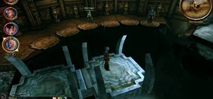 Solve the bridge puzzle at Andraste's Temple in Dragon Age: Origins