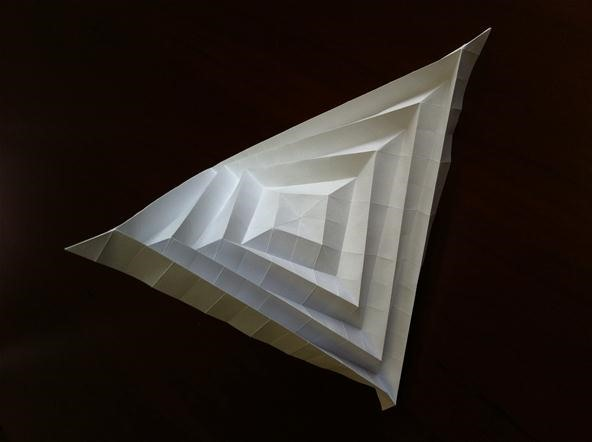 How to Fold a Unique Paper Sculpture