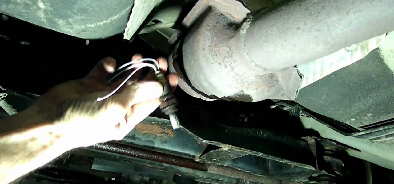 How To Fix Trouble Code P0141 The Rear Oxygen Sensor On